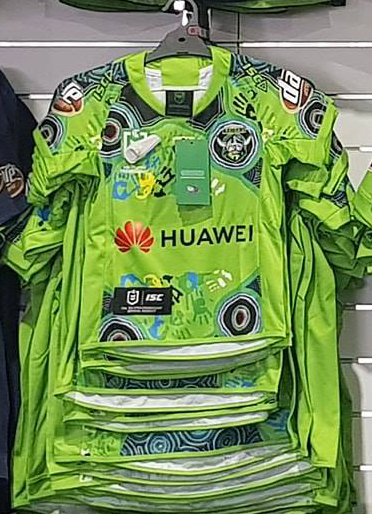 6120ac4c3ca Raiders Indigenous Jersey - The Greenhouse